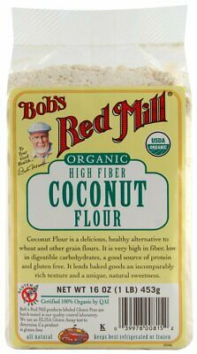 Bob's Red Mill Flour Coconut Organic, 16-ounces (Pack of2)