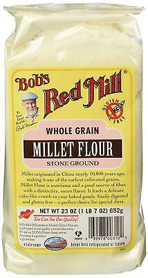 Bob's Red Mill Flour Whole Grain Millet, 23-Ounce (Pack of 4)