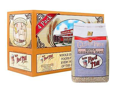 Bob's Red Mill Gluten Free Organic Quick Cooking Rolled Oats