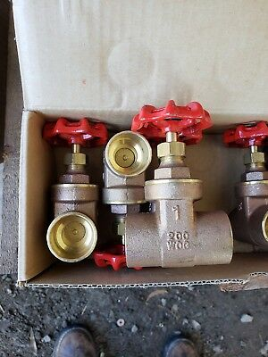 "1"" Sioux Chief Sweat Gate Valves"