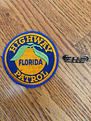 Florida Highway Patrol Patch And A F.h.p. Pin