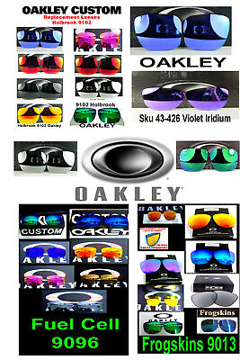 Replacement Lenses  Oakley Frogskins Holbrook Fuel Cell 9013 9102 9096 ç