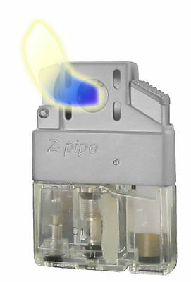 """Z-Plus """"Pipe"""" Lighter Butane Insert, Single Flame, Refillable, Traditional Flame"""