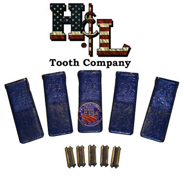 H&L Tooth Co. Original 230SP Bucket Teeth (5 Pack) Cast or Forged + Pins 23 230