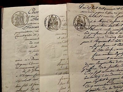 1800s Collection of Handwritten Documents