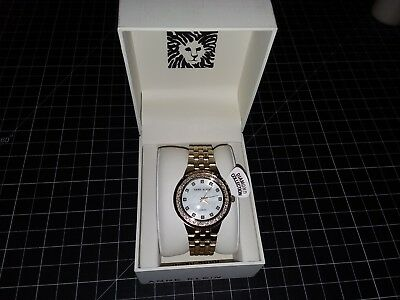 Anne Klein Women's Swarovski Accented Rose Gold-Tone Watch 367684 AK/2760MPGB