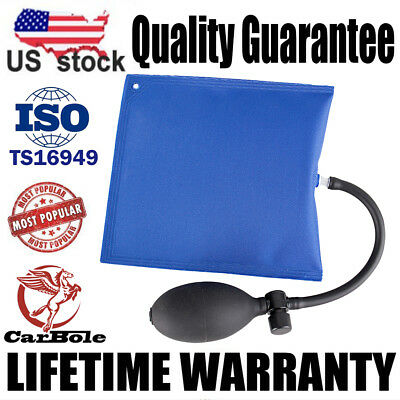 Useful Car Air Pump Wedge Inflatable Bag Shim Door Window Alignment Hand Tool US