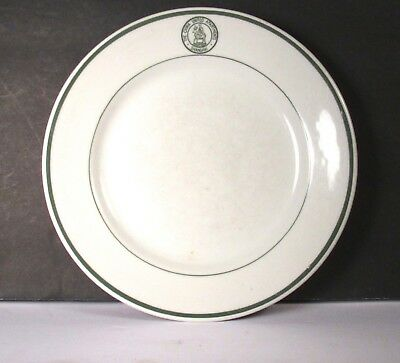 Vintage Dinner Plate Restaurant Ware The China United Apartments Shanghai Mayer