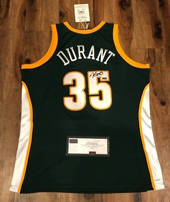ef1752cbfc1 KEVIN DURANT Autographed 2007 Supersonics Signed Mitchell Ness Jersey PANINI  COA