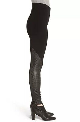 fe9953e87d3c4a NEW WITH TAGS! Spanx Women's Black Faux Leather Moto Leggings Sz ...