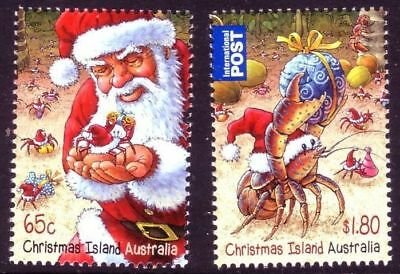 2014 Christmas Island Decimal Stamps - Christmas - MNH set of 2