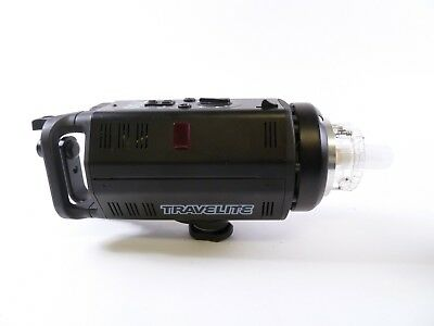 Calumet Travelite 750 Monolight by Bowens with Reflector, Cord, and Cap in EC