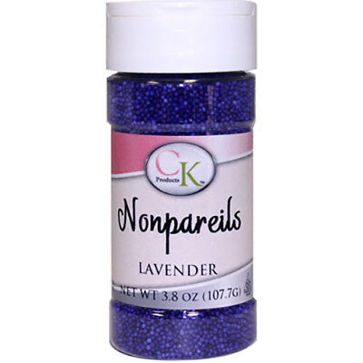 Lavender NonPareils sprinkles for Cupcakes, Cookies, Chocolates & Candy
