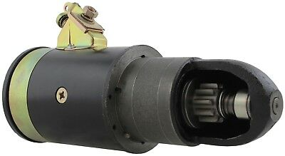 New 6 Volt Starter . USA Built 10 tooth CCW for Allis Chalmers WD 4-201 48-53