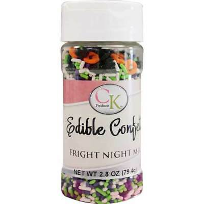 Fright Night Edible Confetti 79g sprinkles for Cupcakes, Cookies & Candy