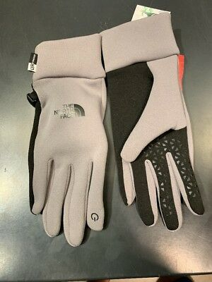 Brand New! The North Face ETIP Women's Gloves - Size: Large - Pache Grey
