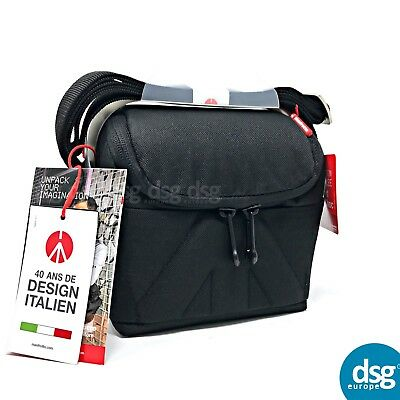 Manfrotto Amica 10 Shoulder Bag Camera Bag - Black For DSLR / MICRO / LENSES