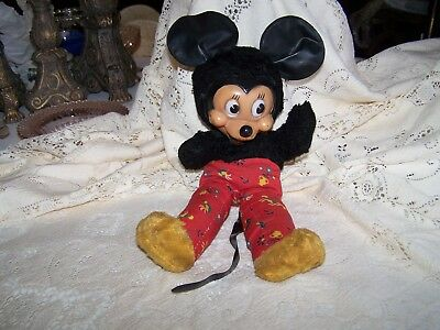 Sweet Vintage GUND MICKEY MOUSE STUFFED DOLL