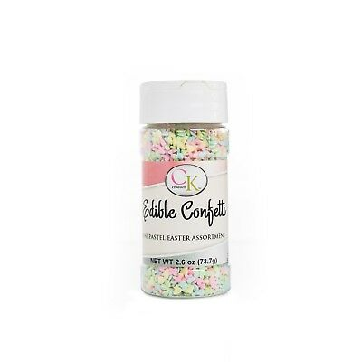 Easter Mini Edible Confetti sprinkles for Cupcakes, Cookies & Candy