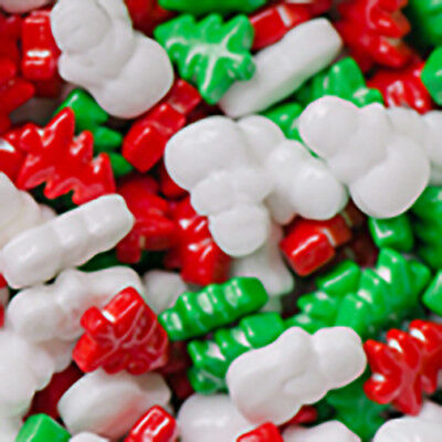 Christmas Frosty Forest Candy decorations for Cupcakes, Cookies & Chocolates