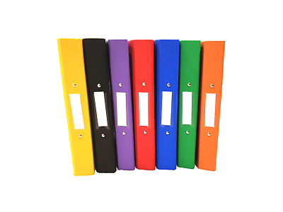 A4 Ring Binder Files Premium Quality 2 Ring Folders 25mm Spine - 7 Colours