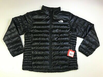 The North Face Men S Flare 550 Down Insulated Fz Puffer Jacket Tnf