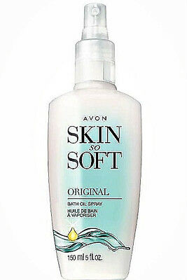 Avon Skin So Soft Bath oil 5 oz Spray Original Scent