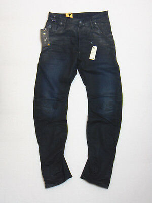 G-Star Raw Arc Zip 3D Loose Tapered W32 L34 RRP £141  Blue Kinly Denim Jeans