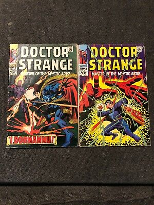 Doctor Strange Comic Lot Of 2 Books 171 And 172
