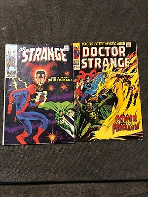 Doctor Strange Comic Lot Of 2 Books 174 And 179
