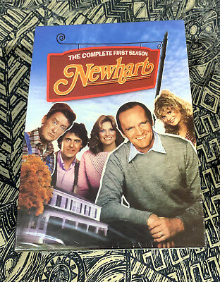 Factory sealed NEWHART THE COMPLETE '80S SERIES EIGHT SEASONS DVD brand new Bob