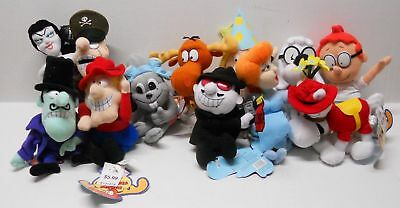 12 Beanbag Dolls The Adventures of Rocky and Bullwinkle and Friends CVS with Box