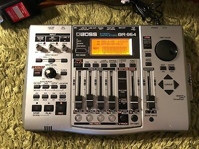 USED EXCELLENT+++! BOSS B-TRACK DIGITAL STUDIO BR-864 From Japan!