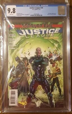 Justice League #30 New 52 CGC 9.8 First Appearance of Jessica Cruz DC