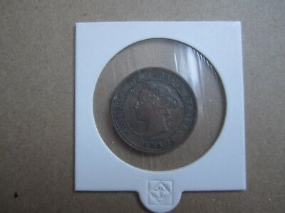 1888 Canada Large Cent One Penny Victoria Coin- Circulated