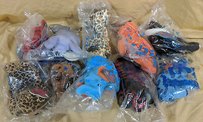AVON Kids Full of Beans Lot of 10 Animals NEW