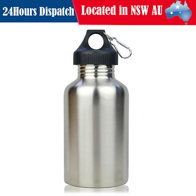 2000ml Stainless Steel Water Drink Bottle Outdoor Cycling Sports Hiking Camping