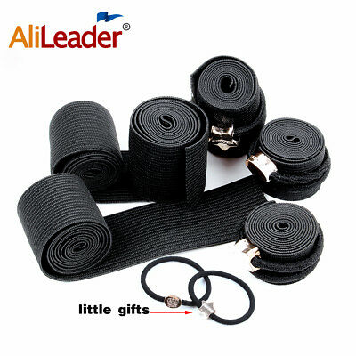 Black Elastic Band For Making Wigs Sewing Wide elastic band Wig And DIY Handmade