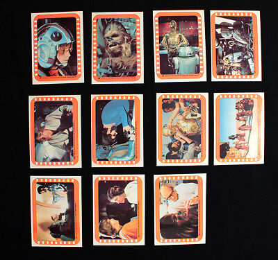 1977 Topps Star Wars Cards Series 5 Compete Sticker set -  Near Mint Condition