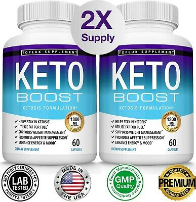 Keto BOOST Diet Pills CUTS Advanced Ketosis Weight Loss Supplement Fast
