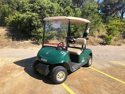 2012 EZGO RXV Golf Cart Buggy Buggie TROJAN Batteries with 48V Battery Charger