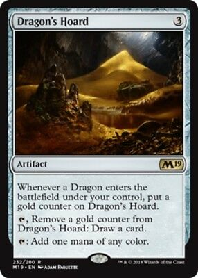 Red Scars of Mirrodin Mtg Magic Rare 1x x1 1 FOIL Hoard-Smelter Dragon