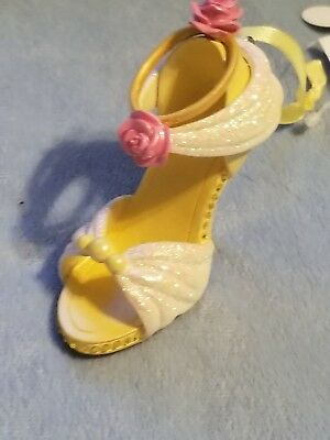 Disney Parks Beauty and the Beast Belle Shoe Ornament NEW with tags