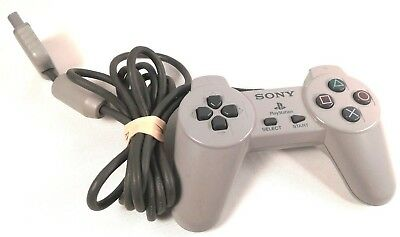 Sony PlayStation 1 Controller PS1 Original Official Digital CLEANED TESTED Good