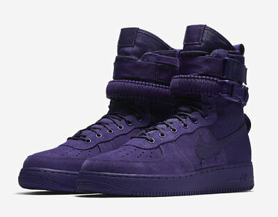 SALE Nike Air Force Special Fields SF AF1 High Purple 864024-500