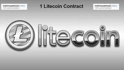 Litecoin Mining Contract 48 Hours (1 LTC) Processing Speed 3.5 GH/s