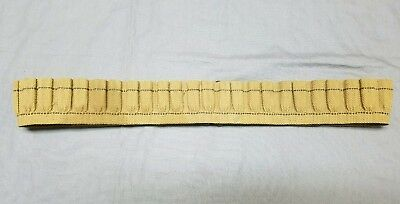 US Mills Pre WWI Canvas Ammo Belt 38 Caliber Revolver Original Army Pat. 1905