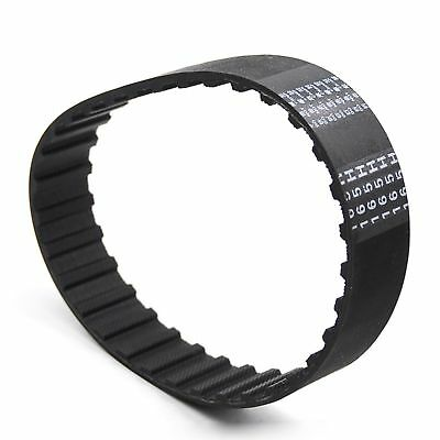 """300H to 395H Rubber Timing Belt Trapezoid Tooth Pitch 1/2"""" Width 10-60mm Select"""