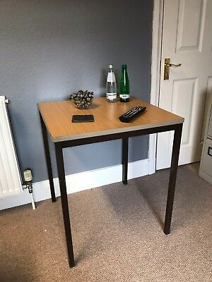 Square Office Side Table. (Desk Height 70 cm)
