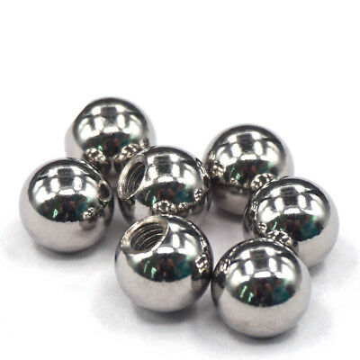 10Pcs 10mm Stainless Steel Ball Rod Ends M4 Threaded 3D Printer Joints